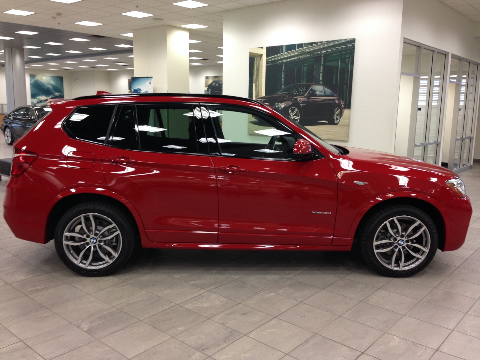 LOTS OF PICS Picked Up Yesterday 2015 X3 XDrive 35i M Sport Melbourne Red