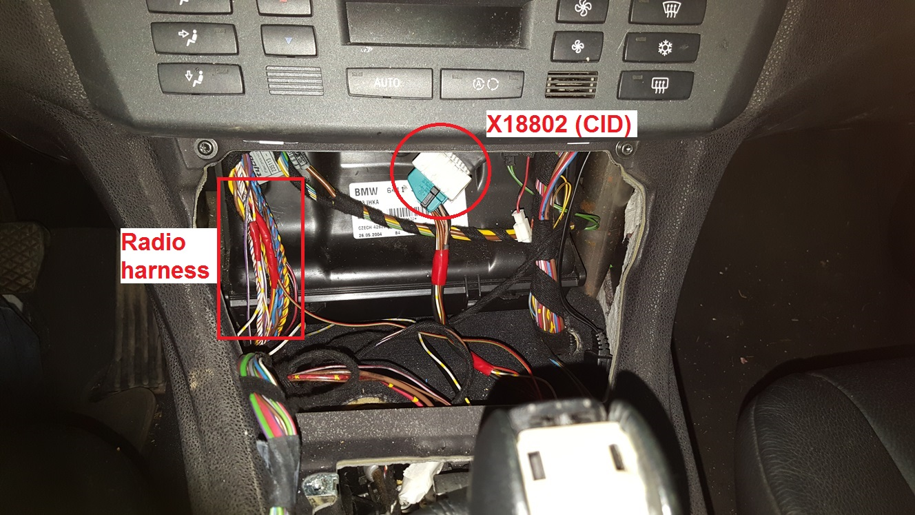 E83 Retrofit Nav Pro Video Module Bmw Radio Wiring Diagram Attached Images
