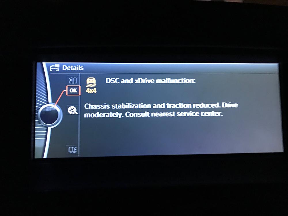 Winter Tires Installed Dash Error Galore Urgent Help Needed Xbimmers Bmw X3 Forum