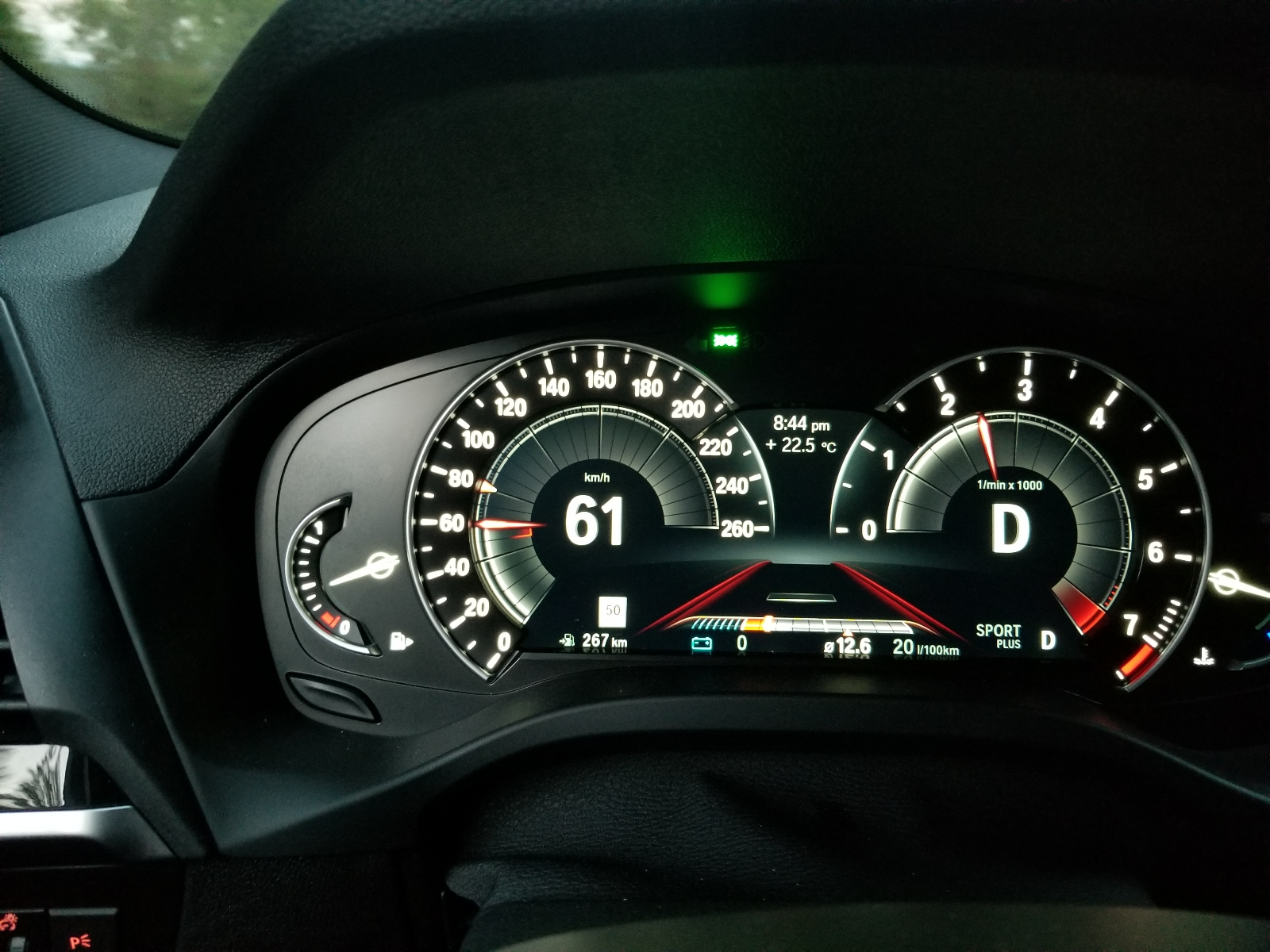 Digital Speedo In Comforteco Pro Mode