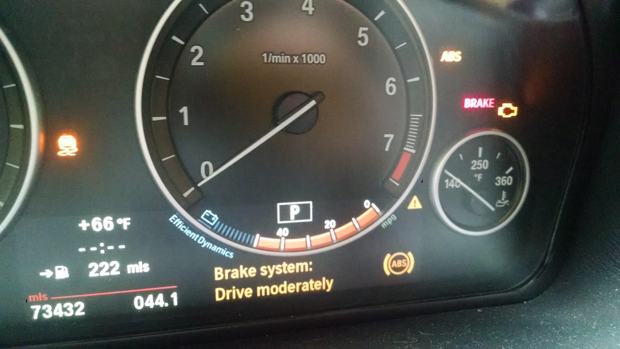 Dash Lights Dsc Abs Brakes Check Engine Parking Brake Airbag Xbimmers Bmw X3 Forum