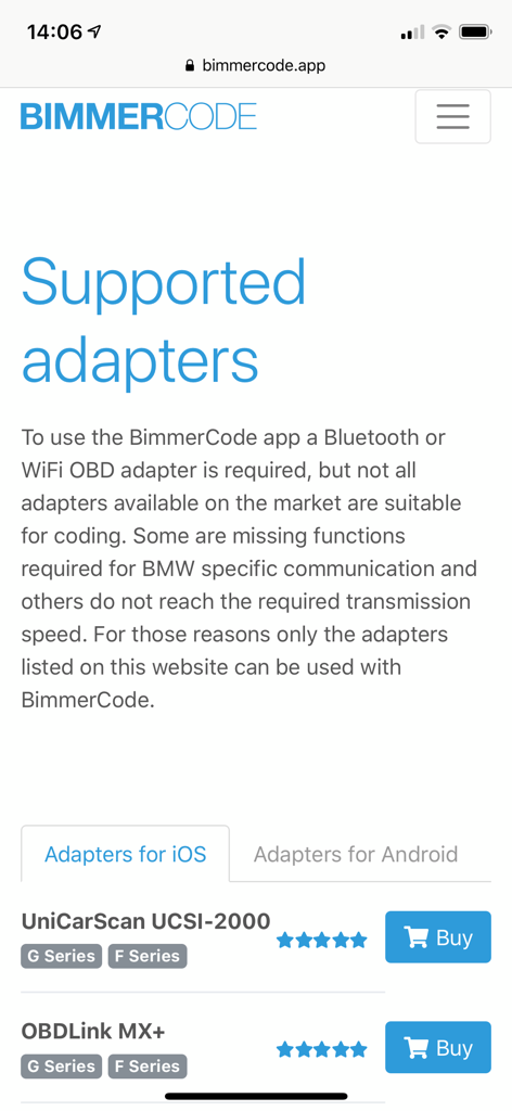 Bimmercode app expert mode | BimmerCode for BMW and Mini on the