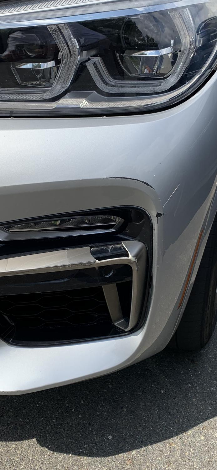 Damaged Bumper Anyone Have An Idea Or Repair Cost Xbimmers Bmw X3 Forum