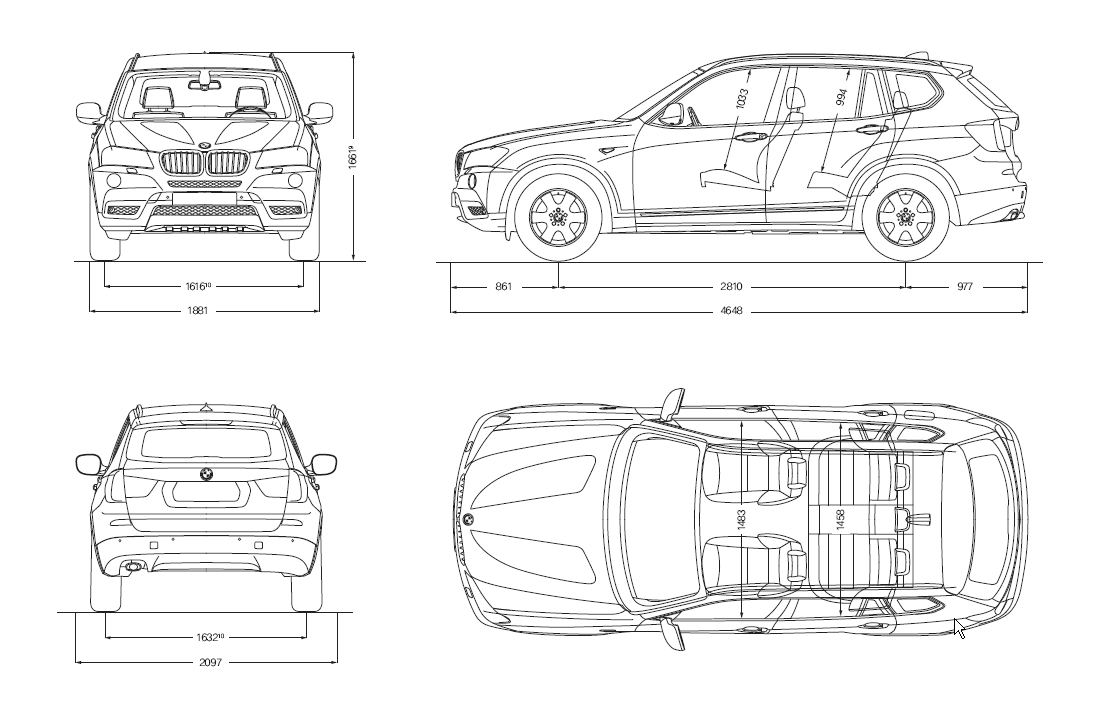 2015 Bmw X5 Dimensions Length Width Autos Post