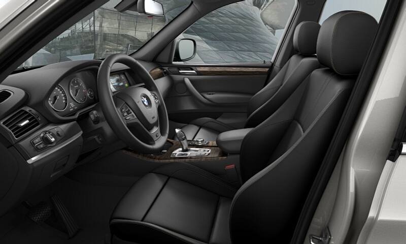 All Black Interior Or