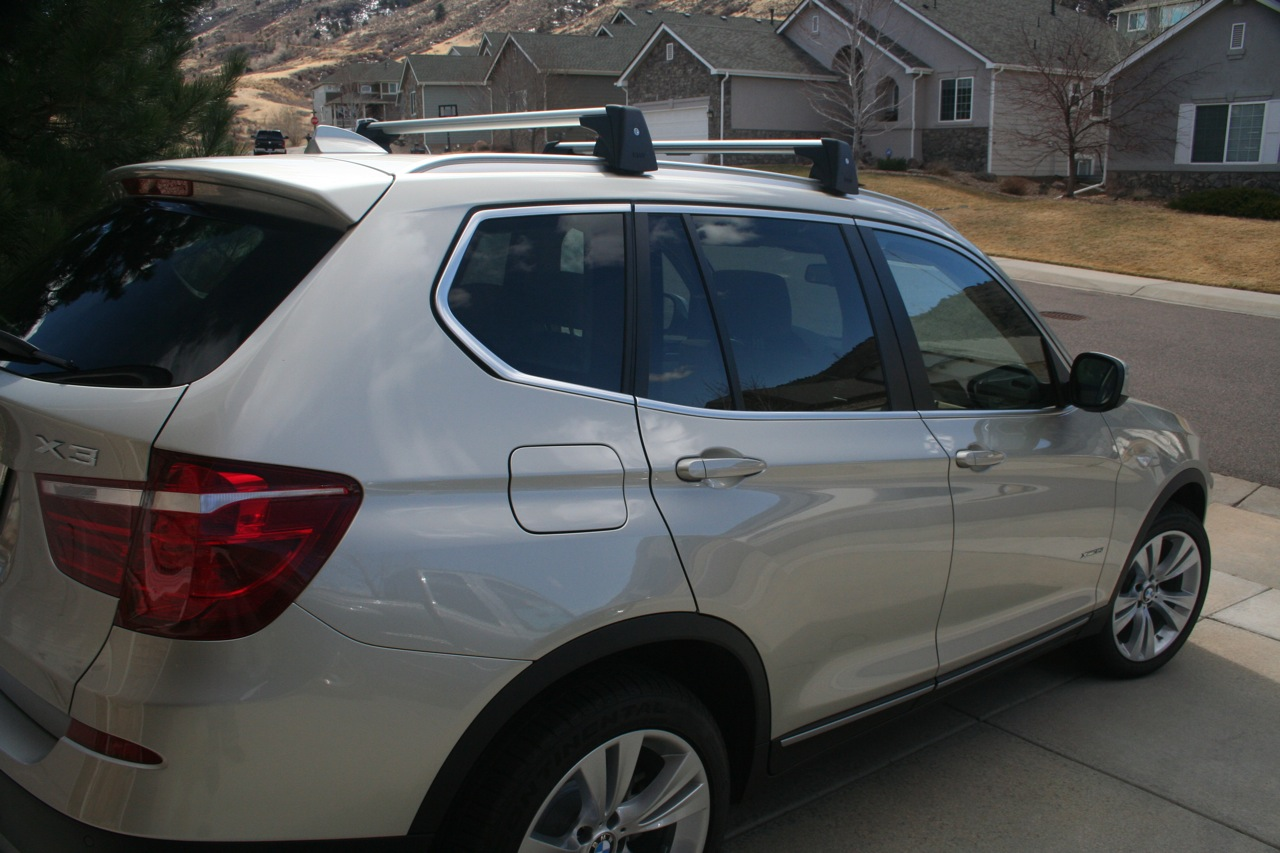 X3 Roof Rack Base Support System Picts