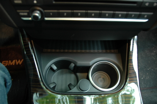 Cup Holder Inserts With Chrome Edge
