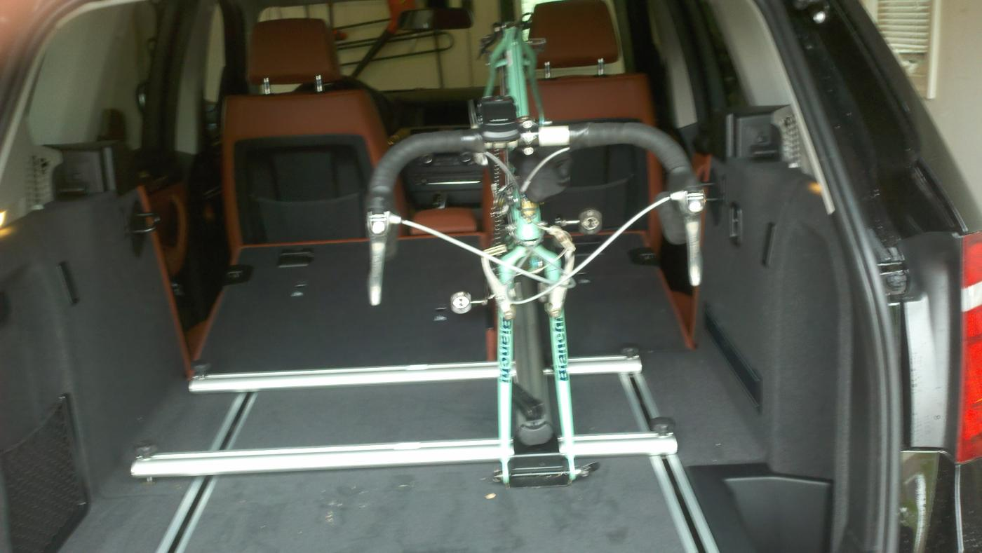Trii Bike Fitting In A New Bmw 3 Series Gran Turismo