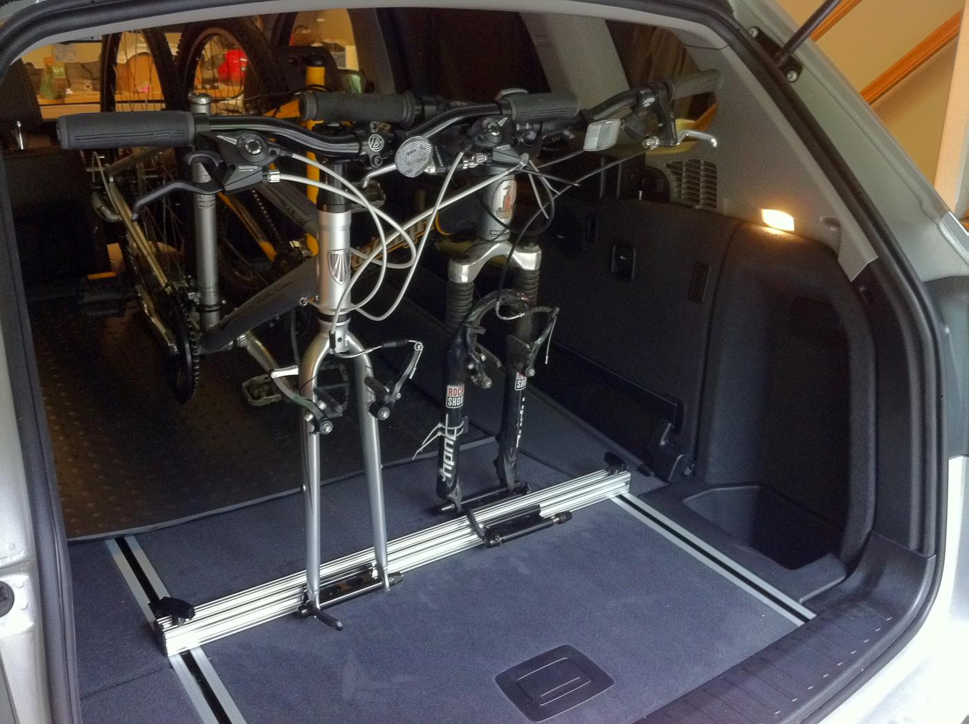 Diy Interior Bike Rack Xbimmers Bmw X3 Forum