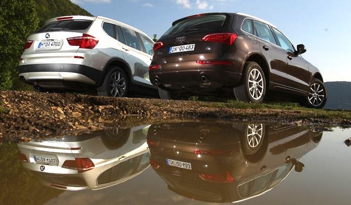 AMS Review BMW X Takes On Audi Q - Audi q5 vs bmw x5