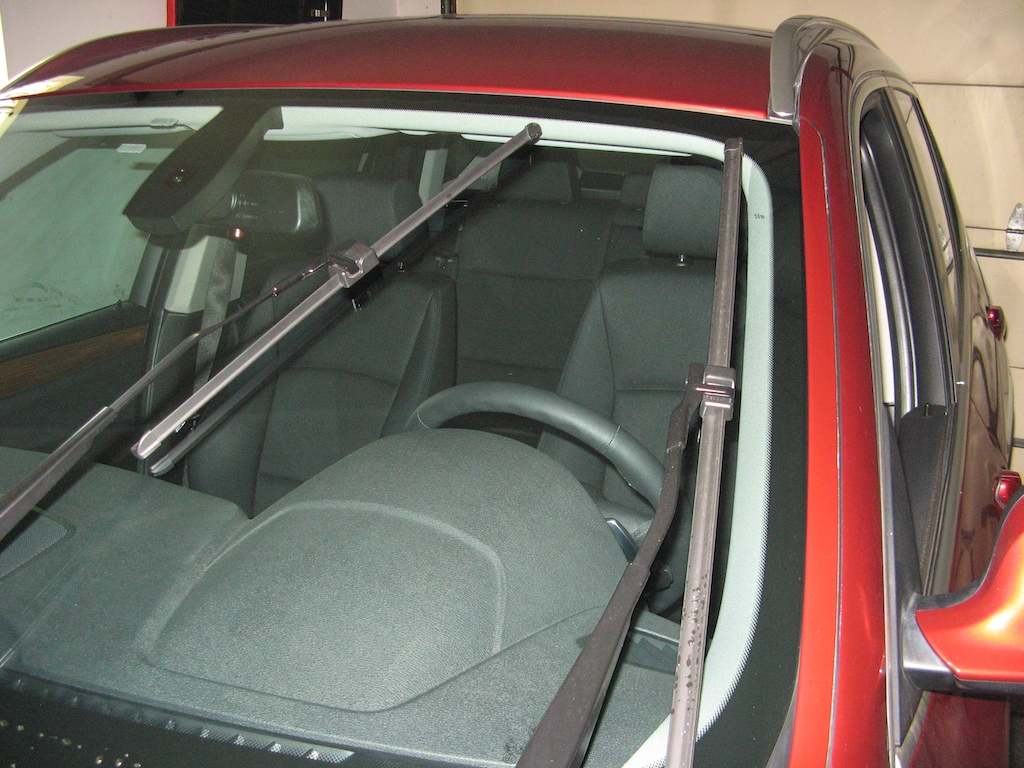Windshield Wiper Home Position
