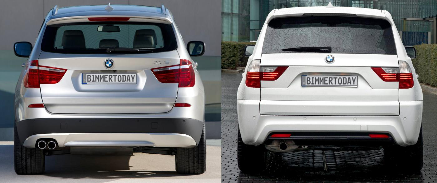 Request Picture Of New X3 Beside Old X5