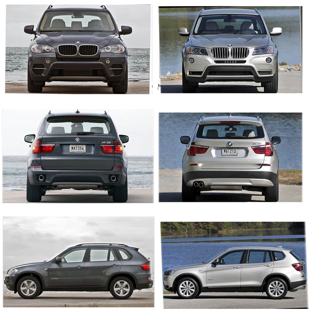 Compare X1 X3 X5 Autos Post