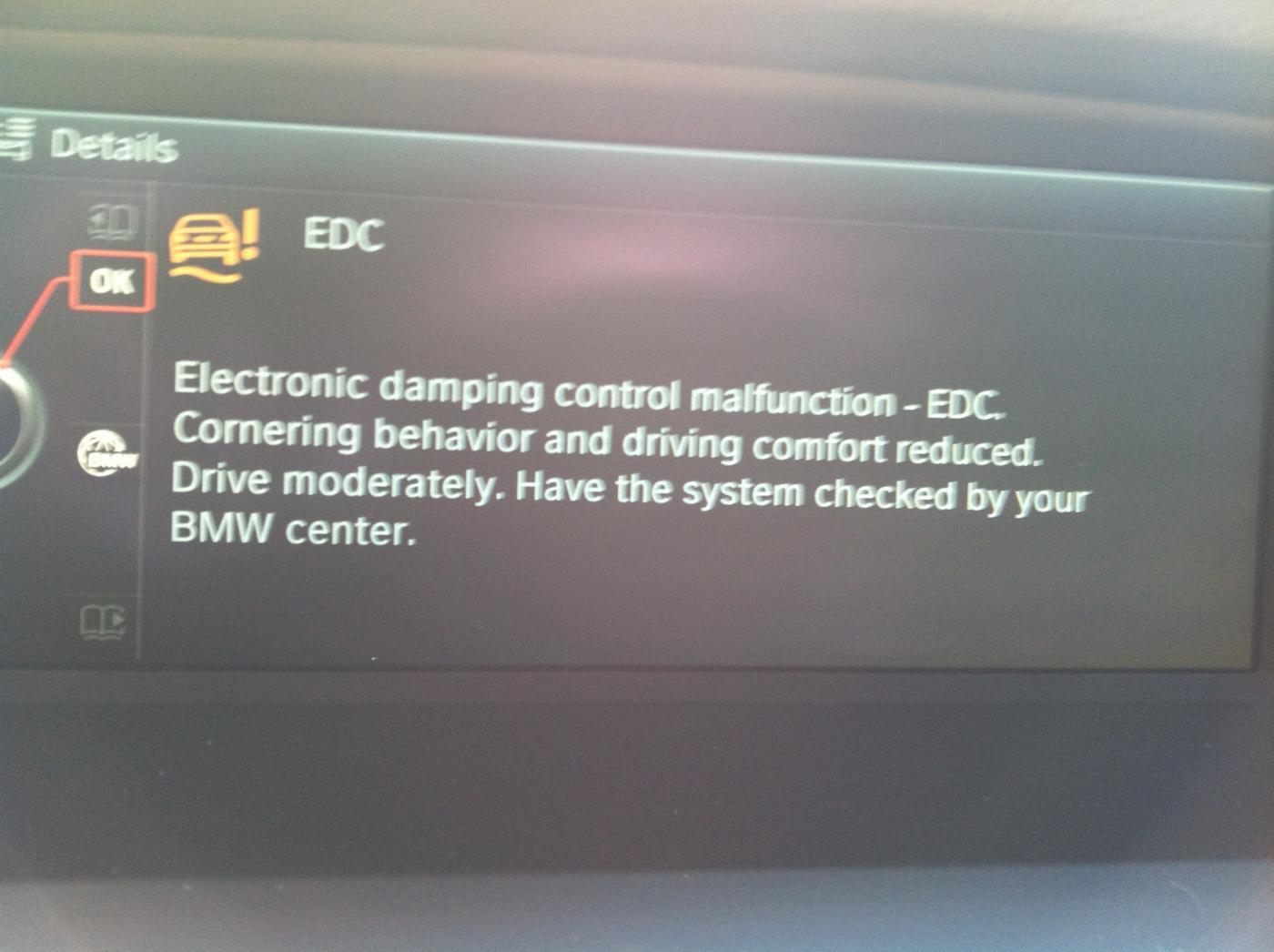 Electronic Damper Control Malfunction