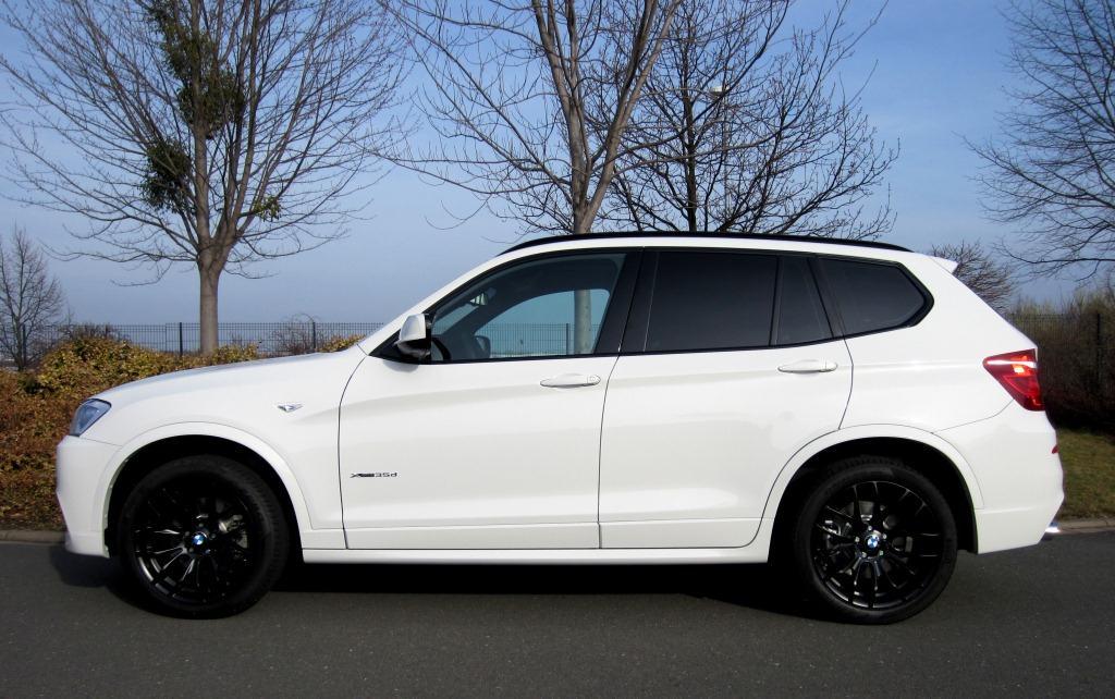 My New X3 35d Alpinwhite M Sport
