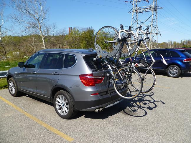 Trunk Bicycle Carrier For 2013 X3 Xbimmers Bmw X3 Forum