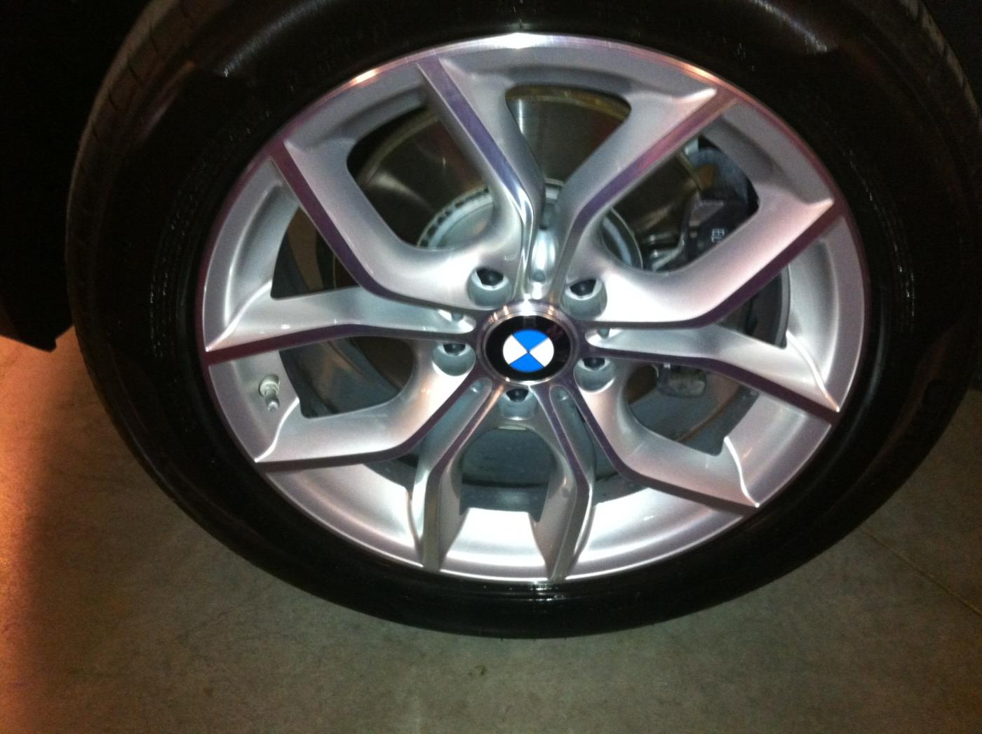 Bmw X3 Sport Activity Package Style 308 Wheels Pirelli