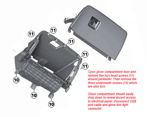 Instructions For Removing X3 Glovebox
