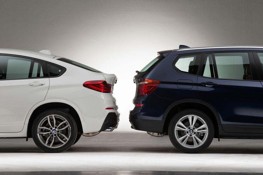BMW X4 Versus X3 Visual Comparison
