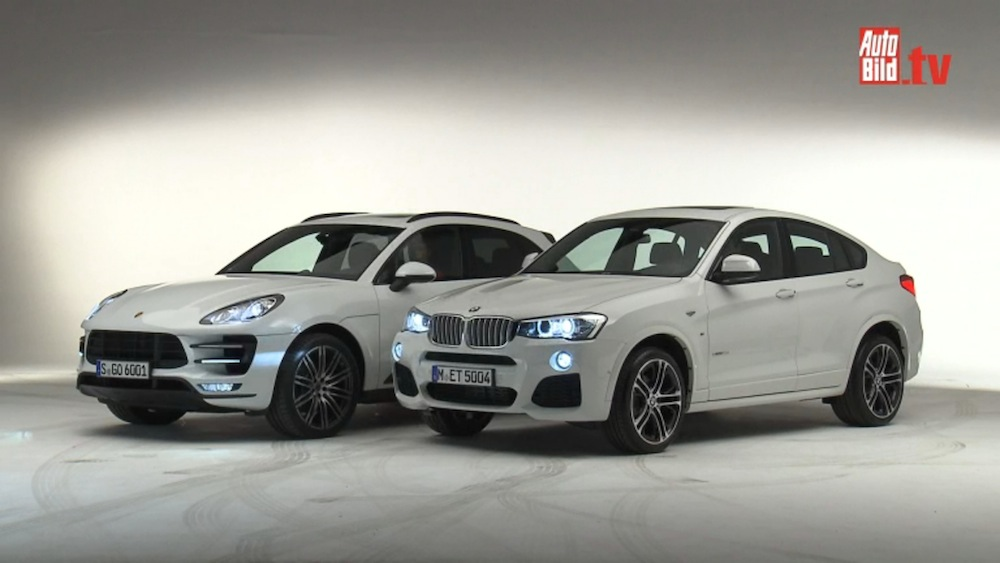 Bmw X4 Vs Porsche Macan Video Pics And Specs