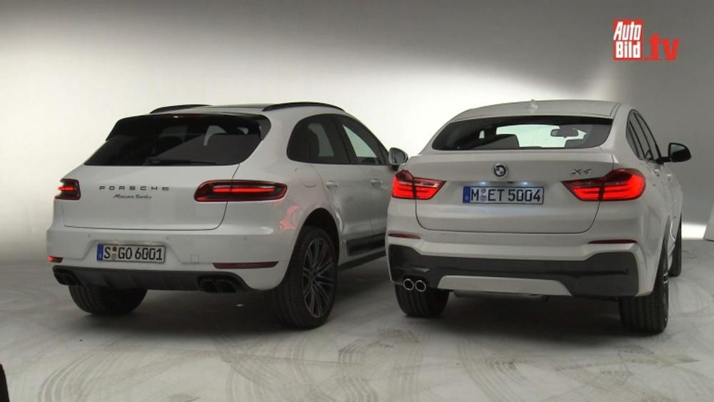 Bmw X4 Vs Porsche Macan Video Pics And Specs