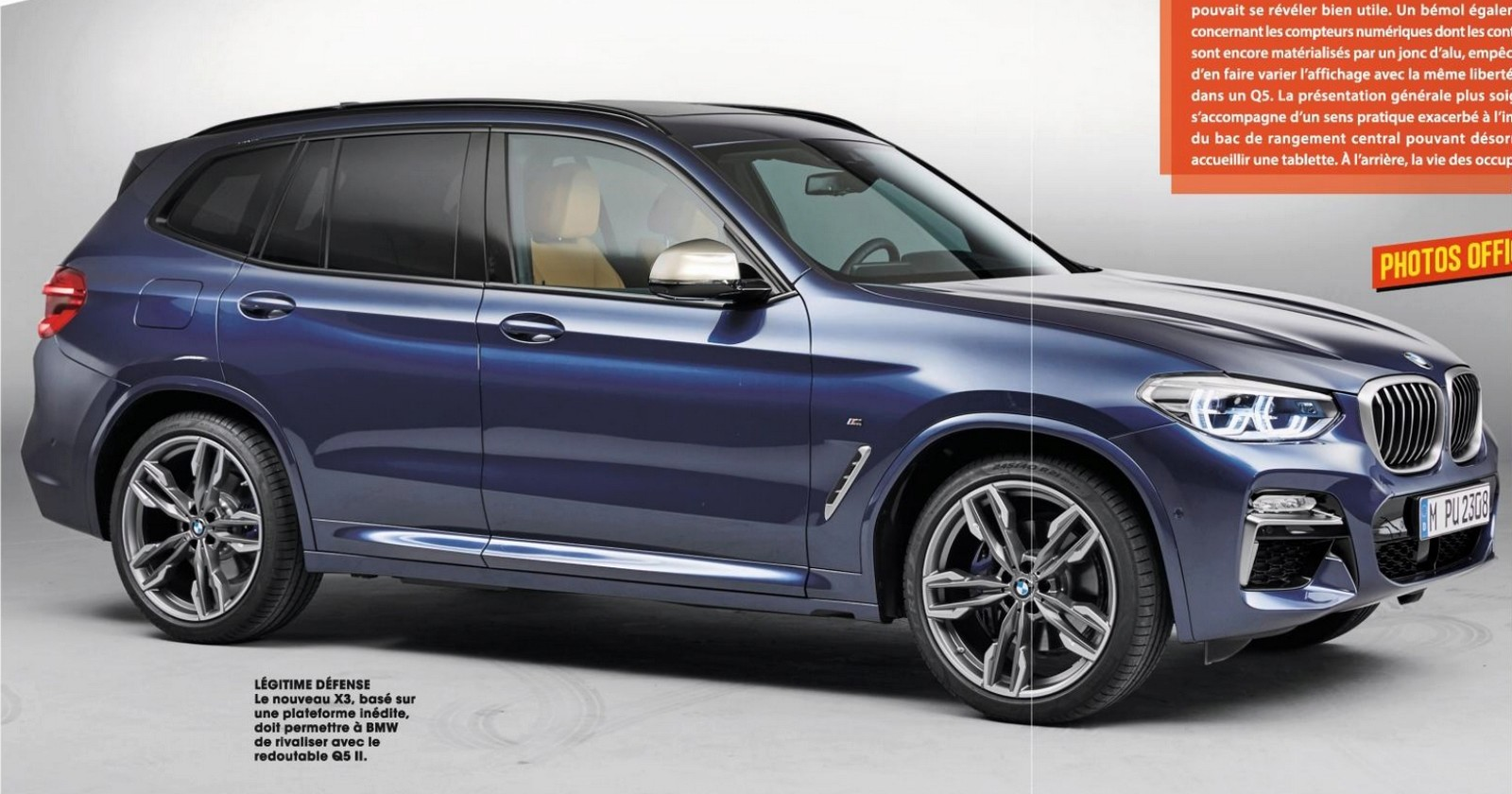 bmw x3 2018 autoforum. Black Bedroom Furniture Sets. Home Design Ideas