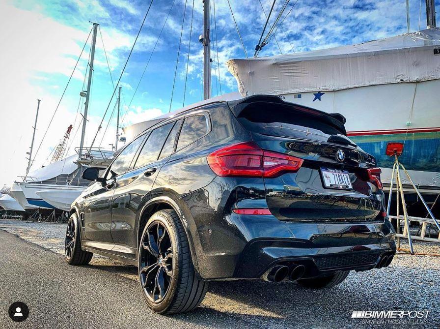 BrooklynX3MC's 2020 BMW X3M Competition - BIMMERPOST Garage