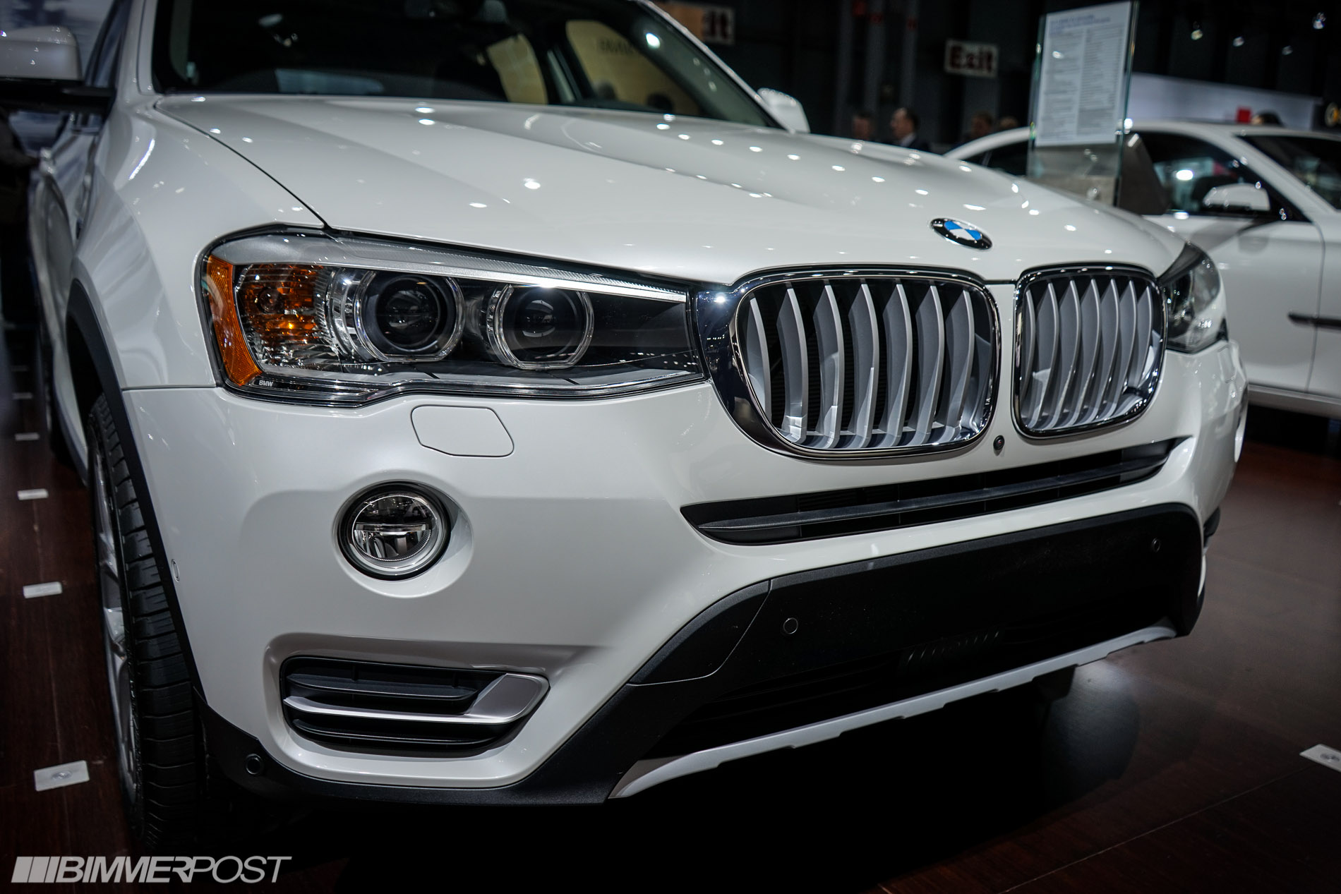 2014 nyias bmw x3 lci facelift. Black Bedroom Furniture Sets. Home Design Ideas