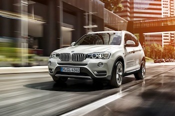 BMW X3 xDrive20d LCI Facelift with xLine
