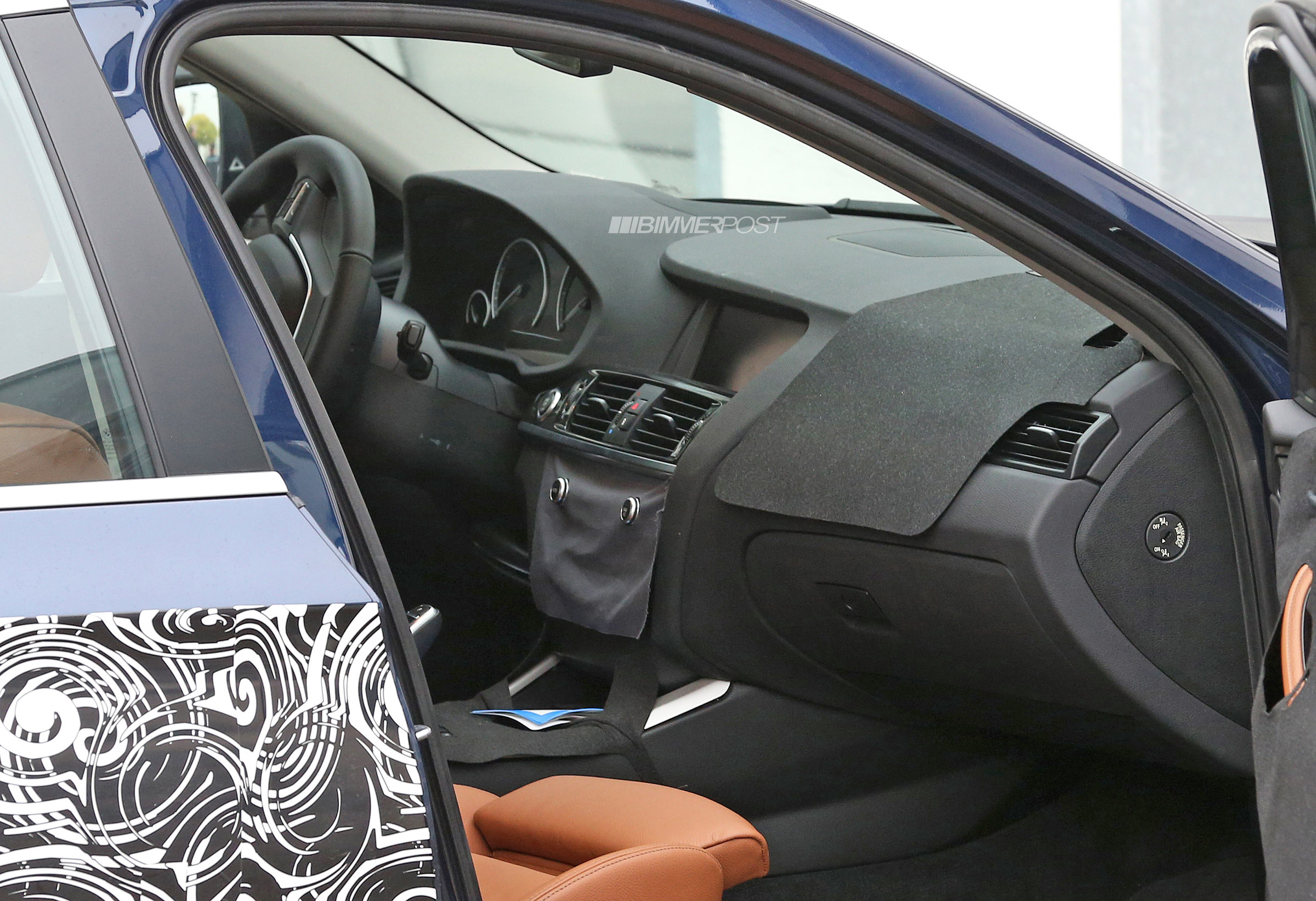 Spied bmw x4 interior for Interieur x2