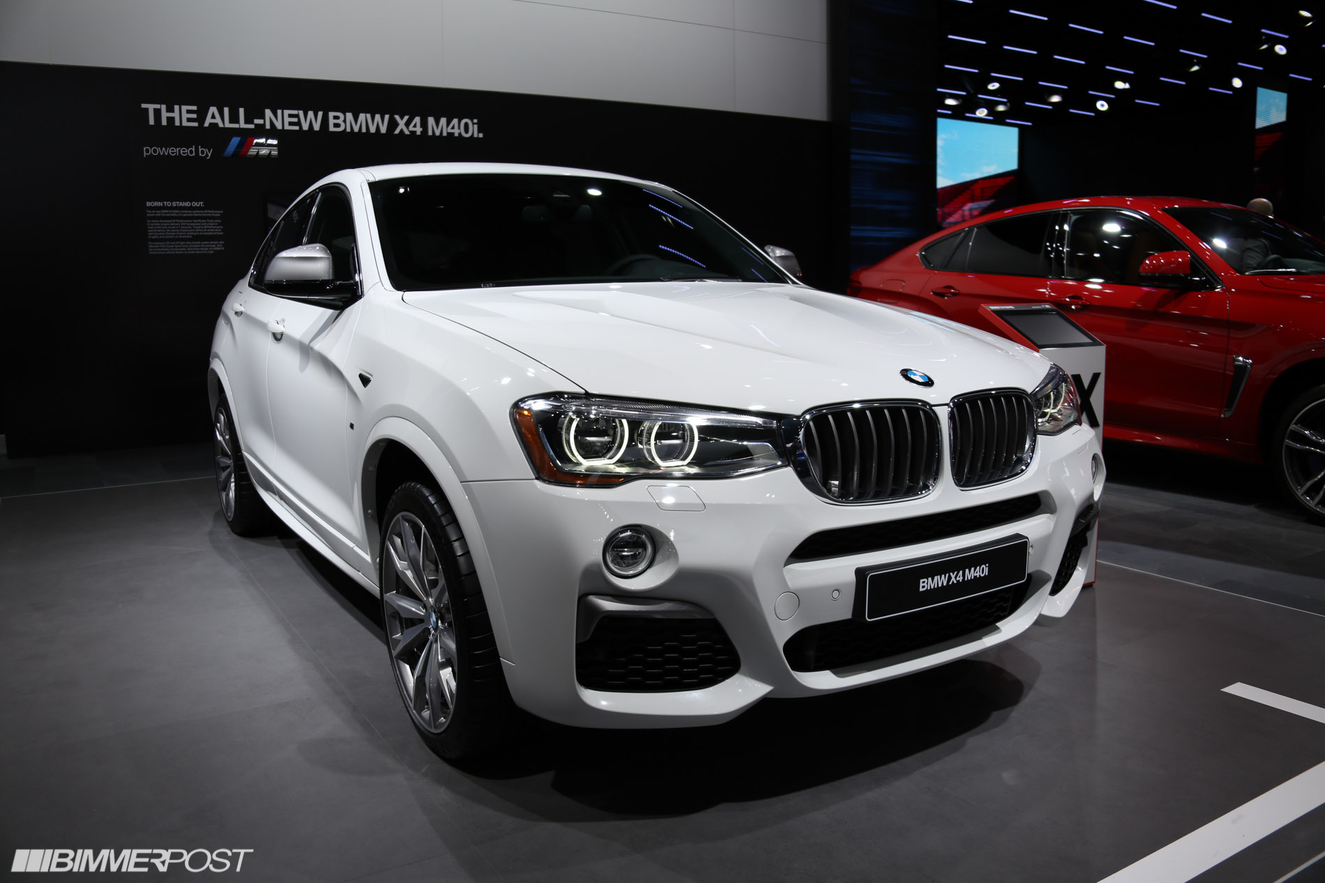 bmw x4 m40i debuts at the 2016 detroit auto show. Black Bedroom Furniture Sets. Home Design Ideas